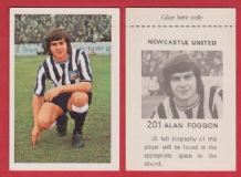 Newcastle United Alan Foggon